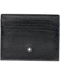 Montblanc Meisterstück Soft Grain Card Holder - Black