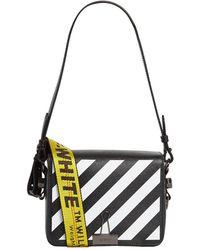 e5b16920f81c Off-White c o Virgil Abloh - Binder Clip Leather Shoulder Bag - Lyst