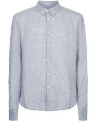 James Perse - Linen Shirt - Lyst