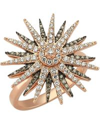 Bee Goddess - Star Light Diamond Ring - Lyst