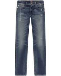 7 For All Mankind - Ronnie Distressed Skinny Jeans - Lyst