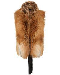 James Purdey & Sons - Fox Fur Stole - Lyst