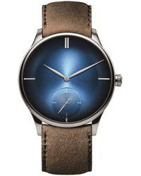 H. Moser & Cie Venturer Small Seconds Watch 39mm - Blue