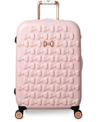 Ted Baker Beau 69cm 4-wheel Medium Suitcase - Pink