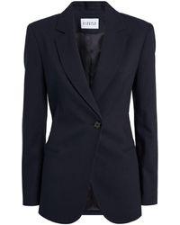 Claudie Pierlot Button-up Blazer - Blue