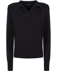 AllSaints - Codie Star Sweater - Lyst