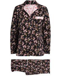 YOLKE Gainsborough Pajama Set - Black