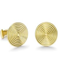 Theo Fennell - Gold Whip Disc Cufflinks - Lyst