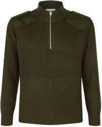 Sandro | Half-zip Sweater | Lyst