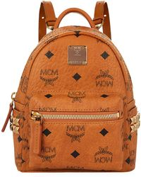 MCM - Mini Stark Bebe Boo Backpack - Lyst