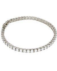 Carat* - 3.05ct Round Tennis Bracelet - Lyst