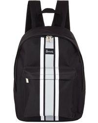 Harrods - Logo Stripe Backpack - Lyst