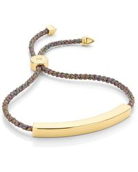 Monica Vinader - Rainbow Metallica Linear Large Friendship Bracelet - Lyst