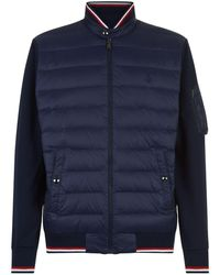 Ralph Lauren | Quilted Front Bomber Jacket | Lyst