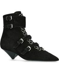 Saint Laurent - Blaze 45 Ankle Boots - Lyst