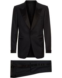 Tom Ford - Shelton Satin Trim Two Piece Suit - Lyst