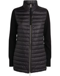Moncler Padded Zip-up Cardigan - Black