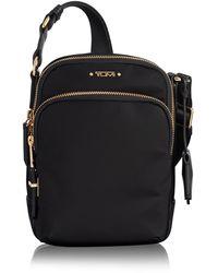 Tumi Voyageur Cross Body Bag - Black