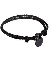 Bottega Veneta - Leather Intrecciato Bracelet - Lyst