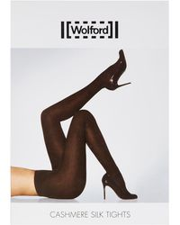 Wolford - Cashmere And Silk Tights - Lyst