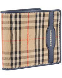 Burberry - Haymarket Check Bifold Wallet - Lyst