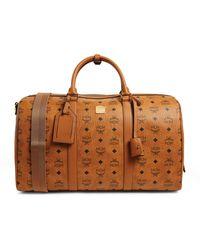 MCM Visetos Weekender Bag - Brown