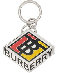 Burberry Logo Keyring - Multicolour