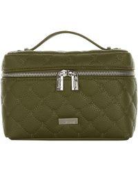 Harrods Acton Cosmetic Bag - Green