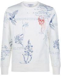Alexander McQueen - Explorer Print Sweatshirt - Lyst