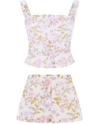 Thierry Colson - Floral Pyjama Top - Lyst