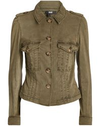 PAIGE Pacey Utility Jacket - Green