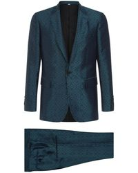 Burberry - Jacquard Two Piece Suit - Lyst