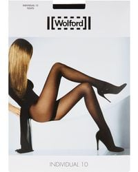 Wolford - Individual 10 Tights - Lyst