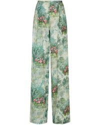 La Costa Del Algodón Cotton Juliette Pernille Pajama Pants - Green