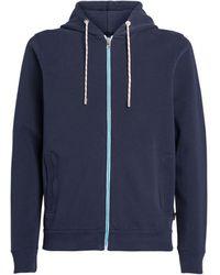 Orlebar Brown Zip-up Hoodie - Blue