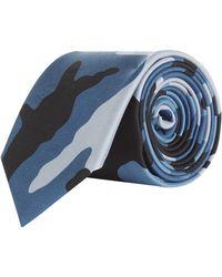 Valentino - Val Tie Print Camo - Lyst