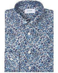 Eton of Sweden - Floral Slim-fit Shirt - Lyst