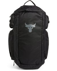 Under Armour Project Rock Duffle Backpack - Black