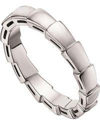 BVLGARI White Gold Serpenti Ring - Metallic