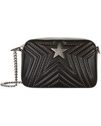 660e3d01701f Lyst - Stella Mccartney Stella Popper Small Cross-body Bag in Black
