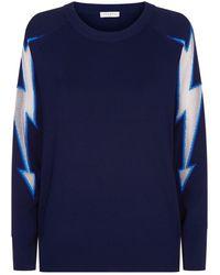 Sandro - Lightning Bolt Sweater - Lyst