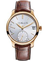 H. Moser & Cie Endeavour Perpetual Calendar Watch 40.8mm - Metallic