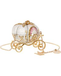 Judith Leiber X Disney Cinderella Pumpkin Clutch Bag - Metallic