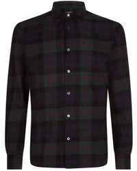Paul Smith - Tartan Cotton Shirt - Lyst