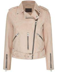AllSaints - Balfern Biker Jacket - Lyst