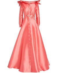 Alexis Mabille Boat-neck Gown - Pink