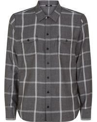 PAIGE - Check Shirt - Lyst