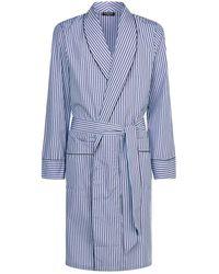 Harrods | Classic Striped Robe | Lyst