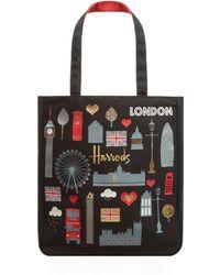 Harrods - London Glitter Tote Bag - Lyst