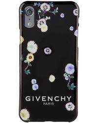 Givenchy Fiori Iphone X Case - Black